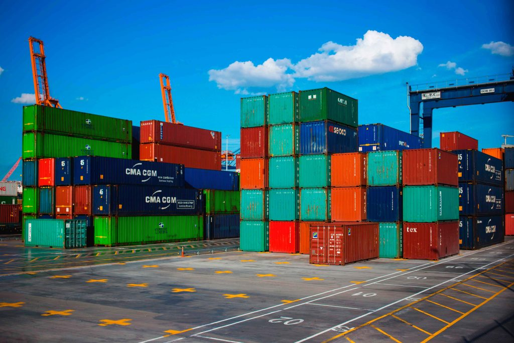 container sizes transport Sector